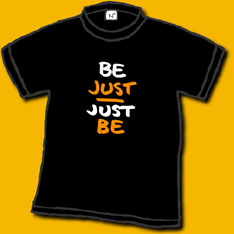 Be Just Shirt Image
