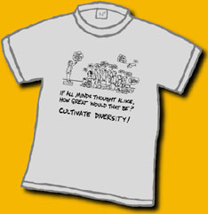 Cultivate Diversity Shirt Image
