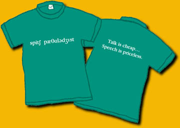 Speech Pathologist Shirt Image