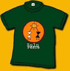 Zulu Peace Shirt Image